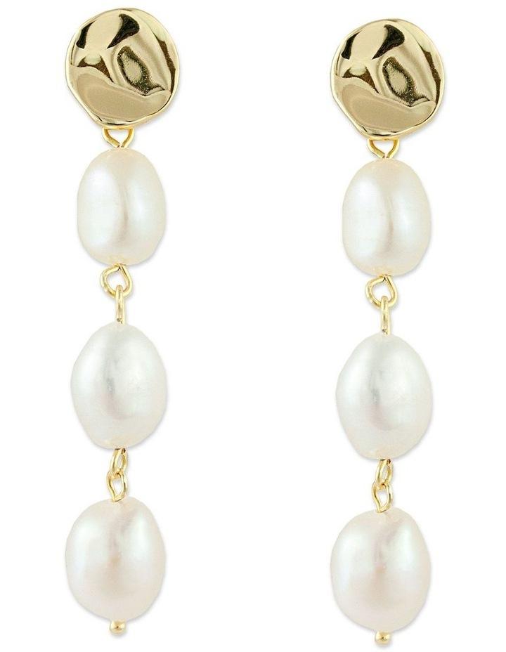 Lagoon Earrings - Gold image 1
