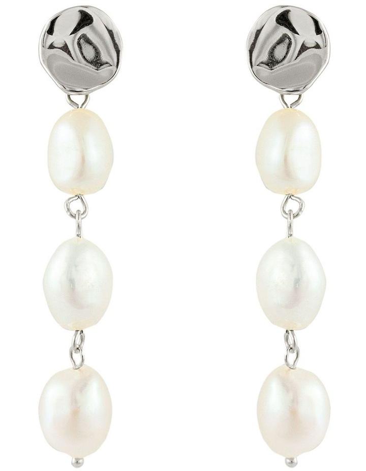 Lagoon Earrings - Silver image 1