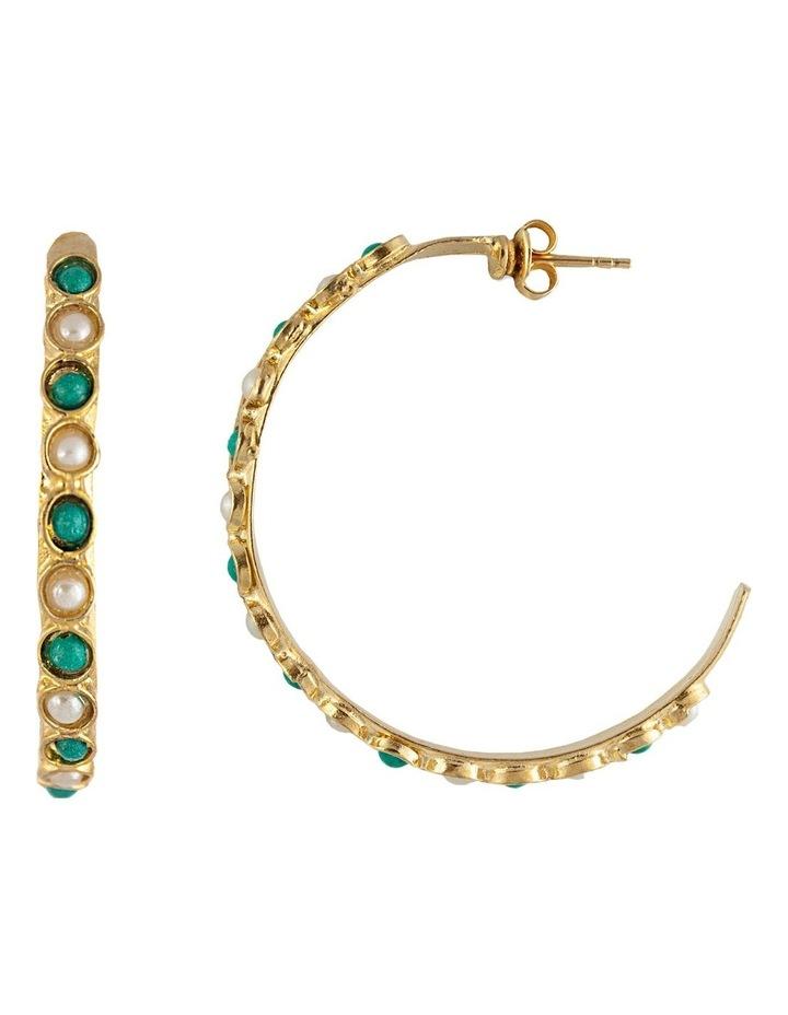 Remi Earrings w/ Freshwater Pearls image 1