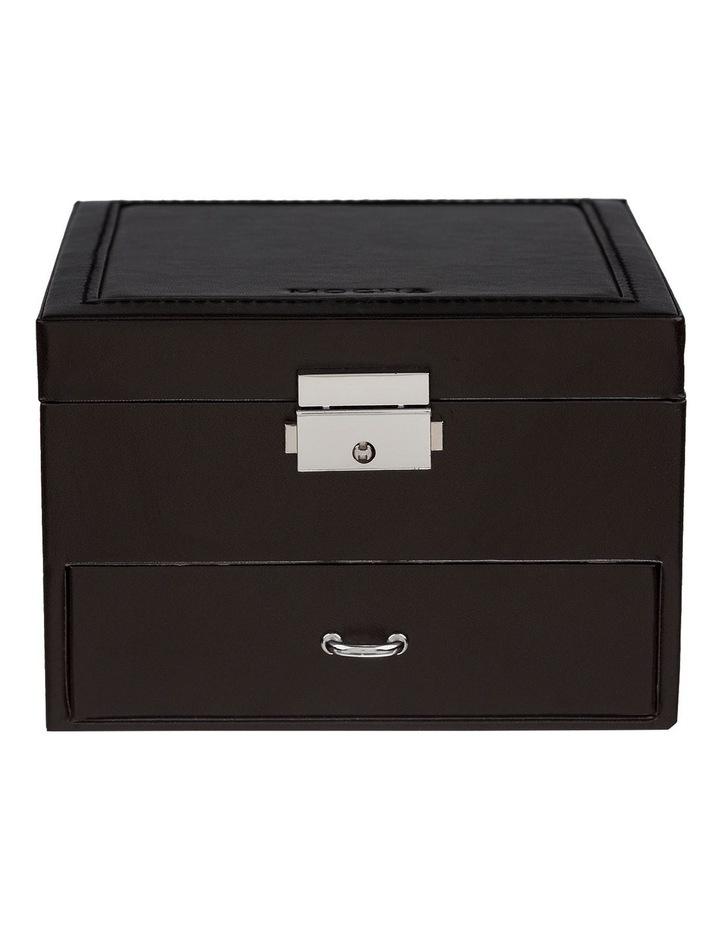 Mini Compact Jewellery Box - Black image 1