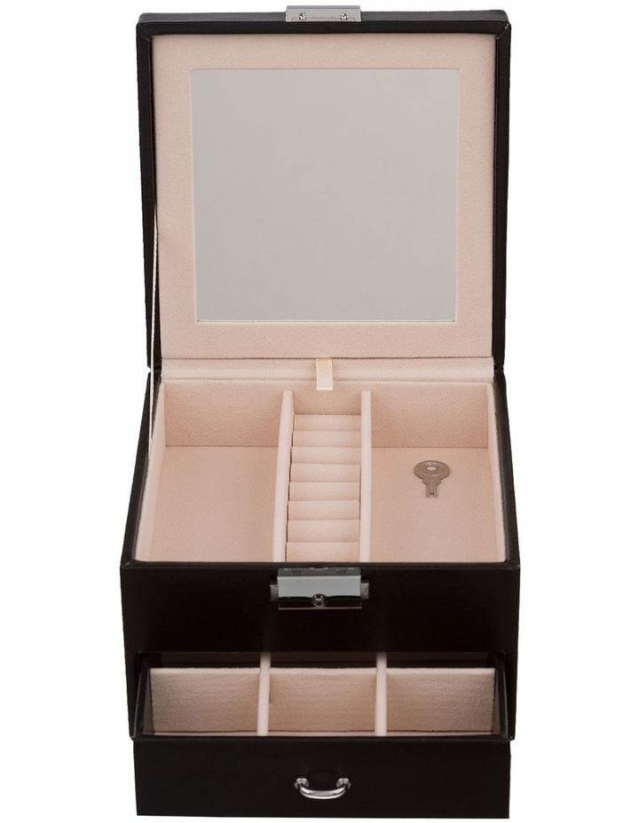 Mini Compact Jewellery Box - Black image 2