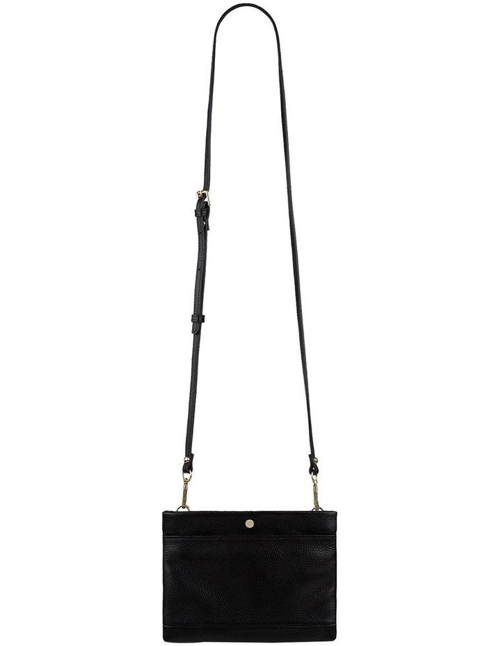 Andie Leather Crossbody - Black image 2