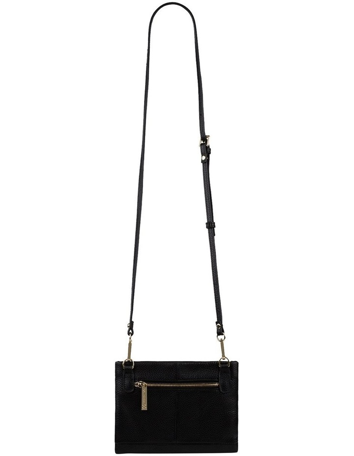 Andie Leather Crossbody - Black image 3