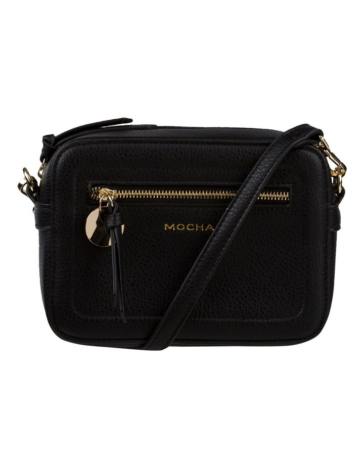Gigi Box Crossbody Bag - Black image 1