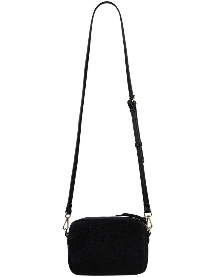 Gigi Box Crossbody Bag - Black image 3