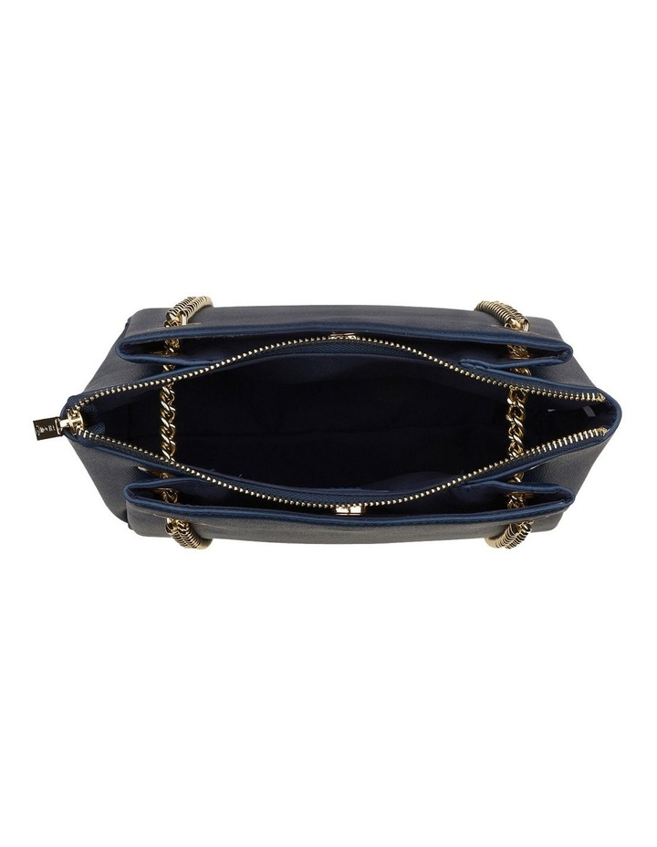 Josephine Chain Crossbody - Navy image 3