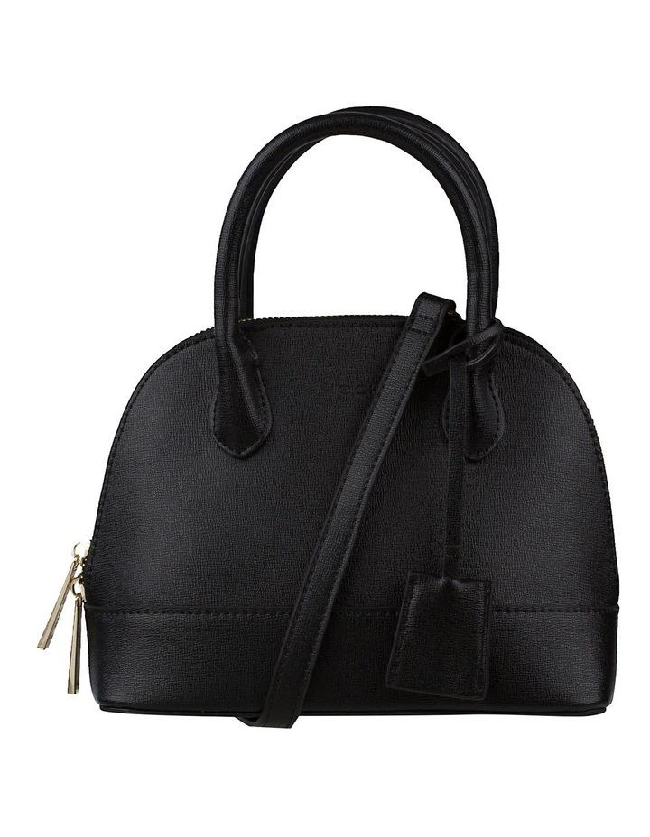 Cecilia Top-Handle Crossbody Bag - Black image 1
