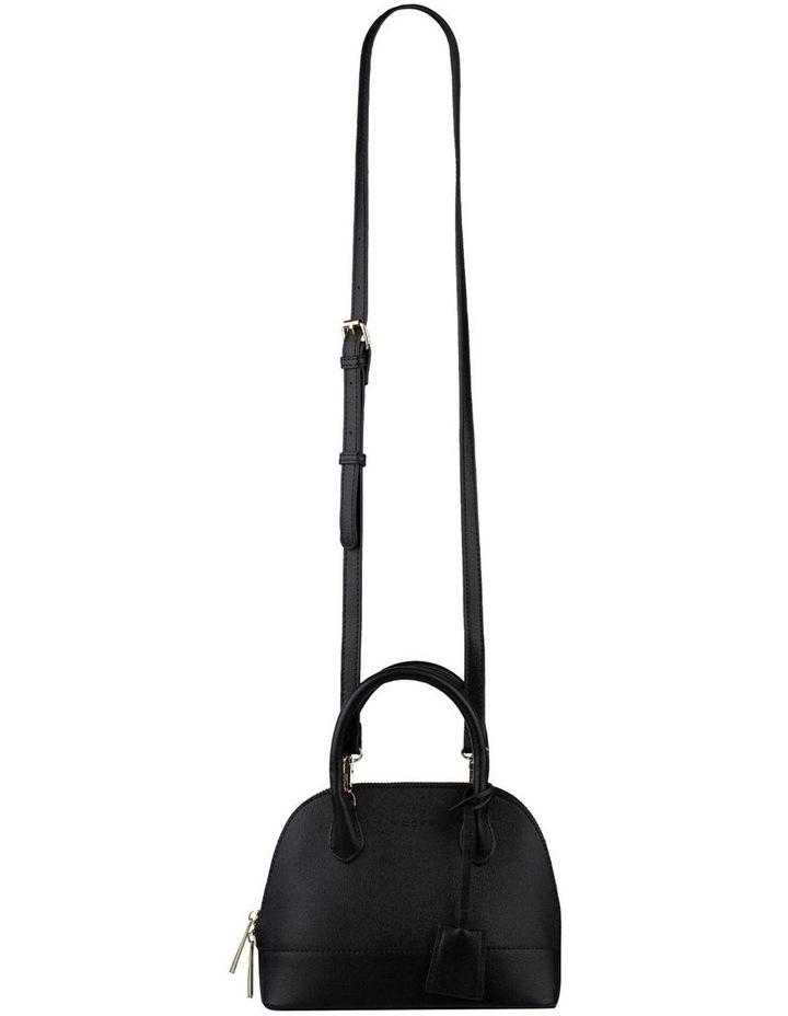 Cecilia Top-Handle Crossbody Bag - Black image 2