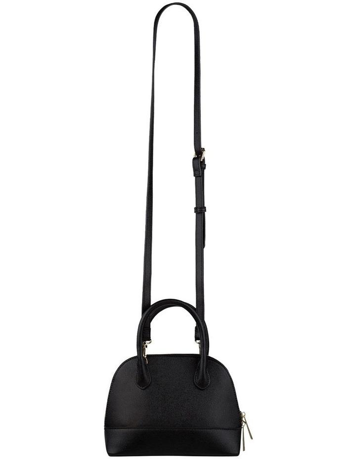 Cecilia Top-Handle Crossbody Bag - Black image 3