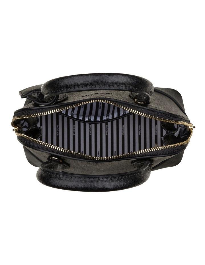 Cecilia Top-Handle Crossbody Bag - Black image 4