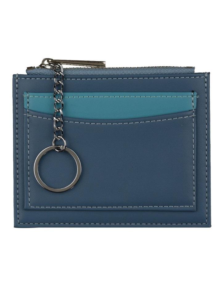 Contrast Mini Coin Wallet - Ocean Blue image 1
