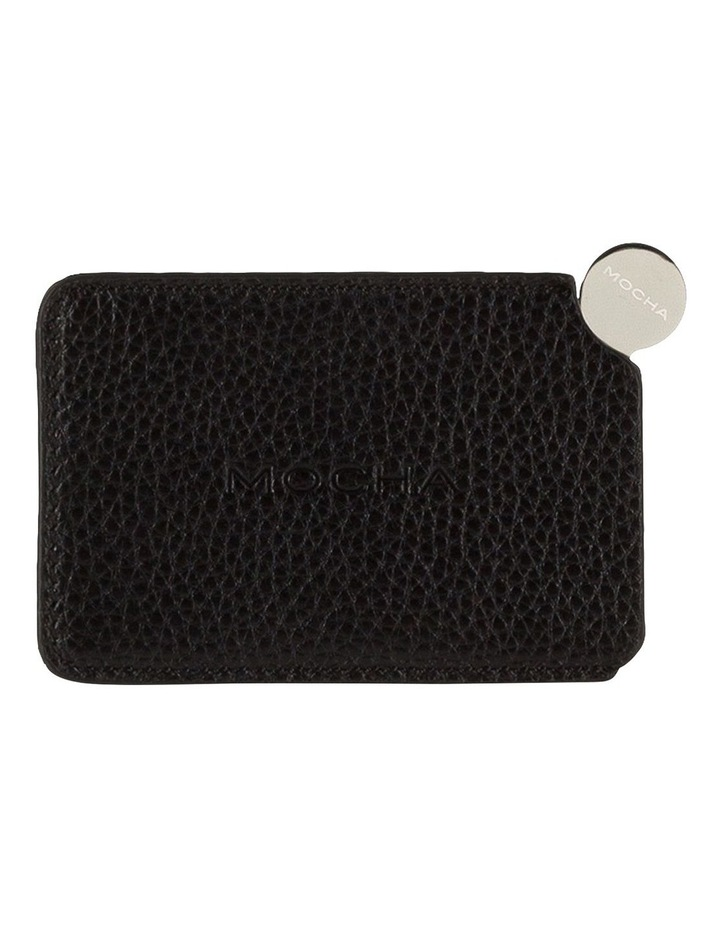 Mirror With Leather Sleeve - Black image 1