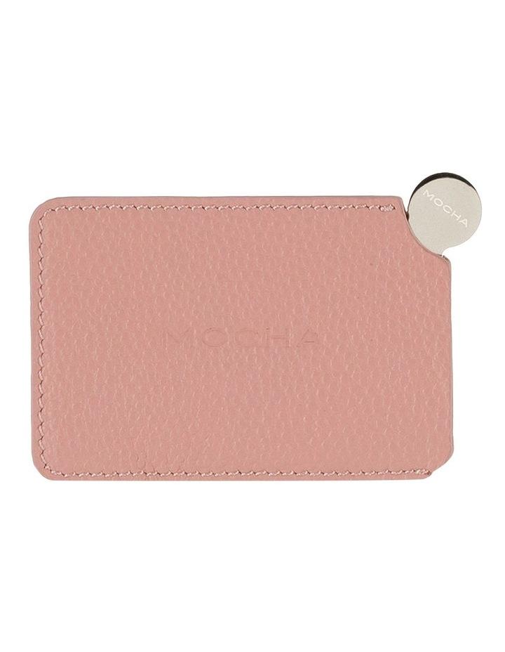 Mirror with Leather Sleeve - Flamingo image 1
