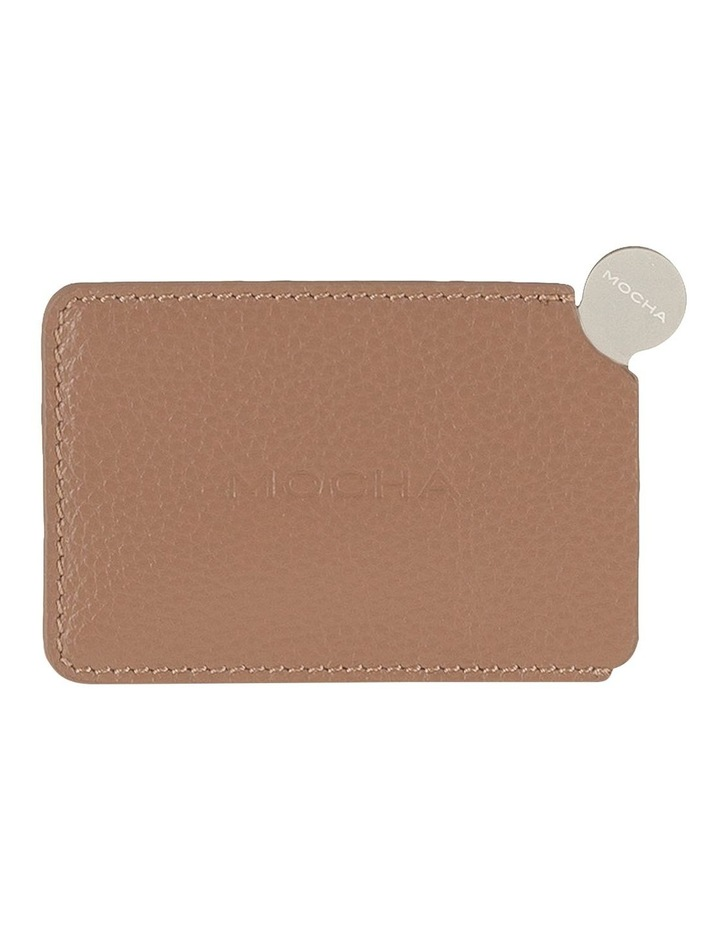 Mirror with Leather Sleeve - Taupe image 1