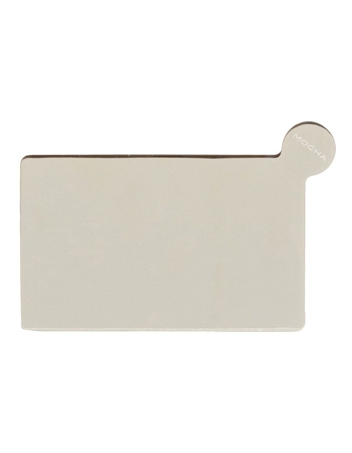 Mirror with Leather Sleeve - Taupe image 2