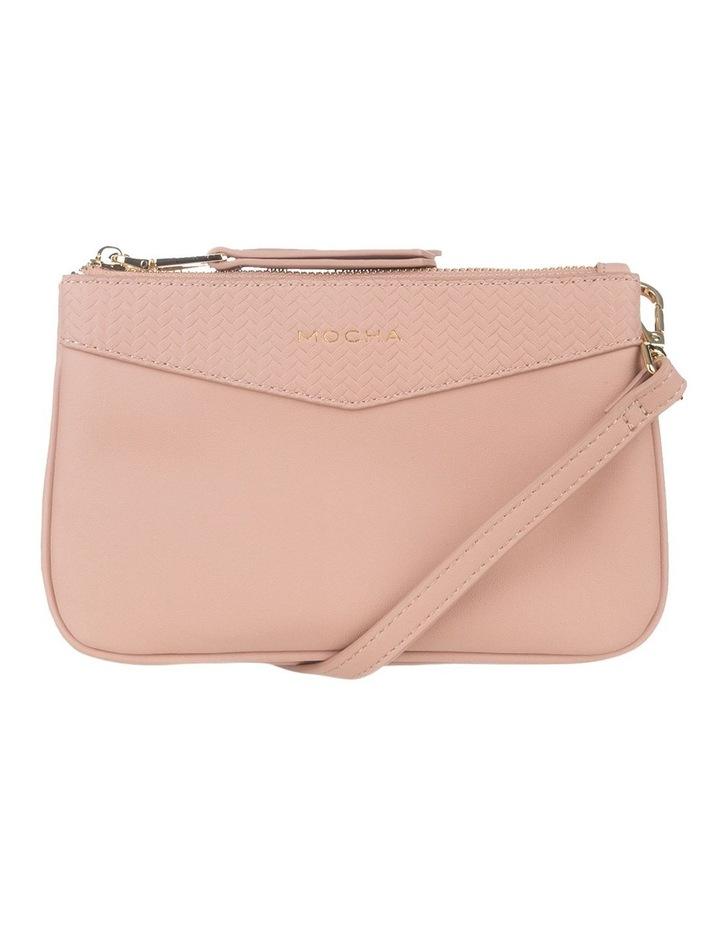 Braidy Pink Nude Double Crossbody Bag image 1