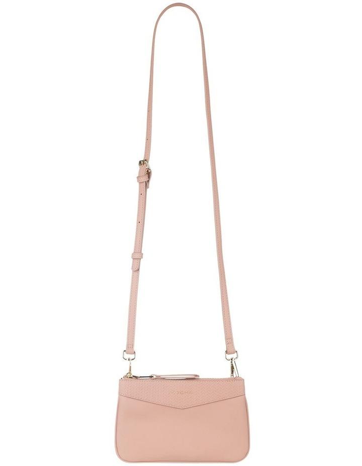 Braidy Pink Nude Double Crossbody Bag image 2