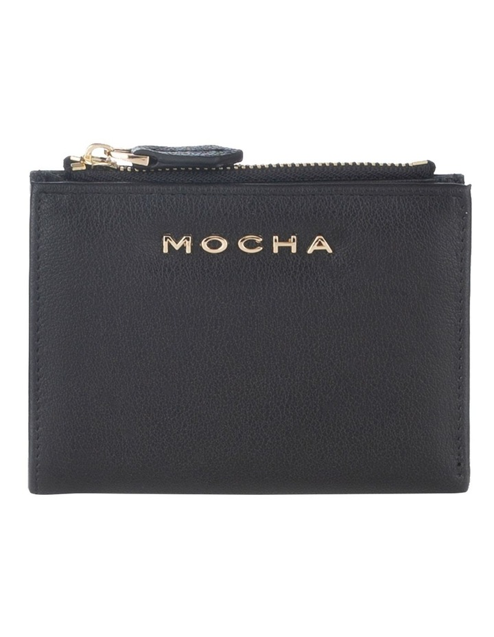 Classic Mini Black Leather Wallet image 1