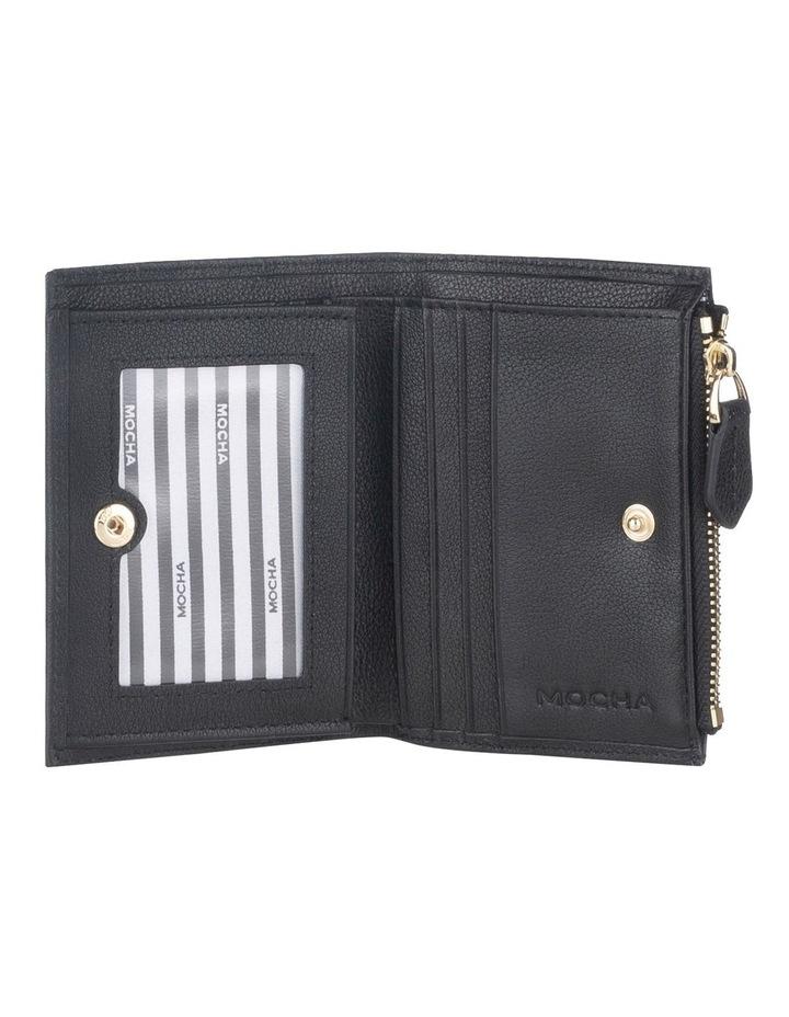 Classic Mini Black Leather Wallet image 2
