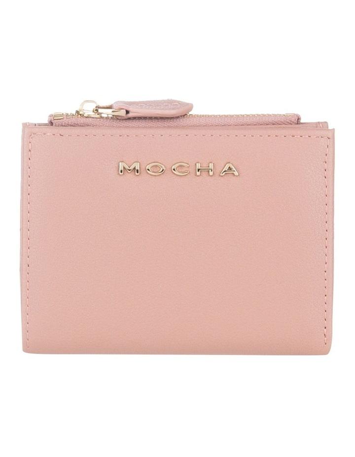 Classic Mini Dark Blush Leather Wallet image 1