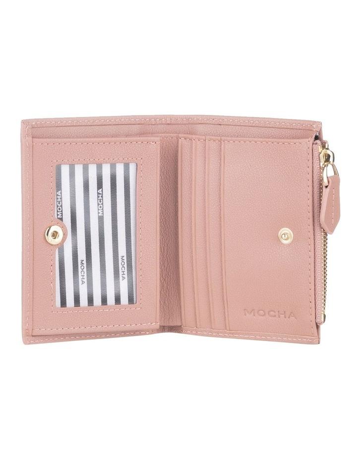 Classic Mini Dark Blush Leather Wallet image 2
