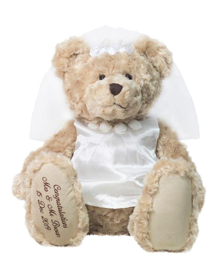 BRIDE MY BIRTHDAY TEDDY image 1