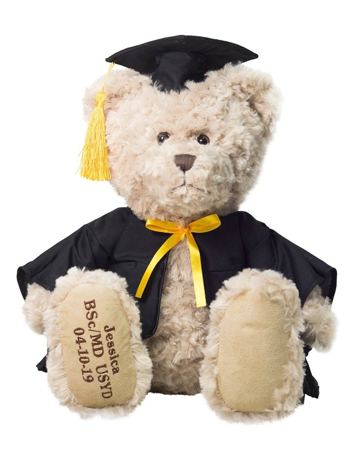 GRADUATION MY BIRTHDAY TEDDY image 1
