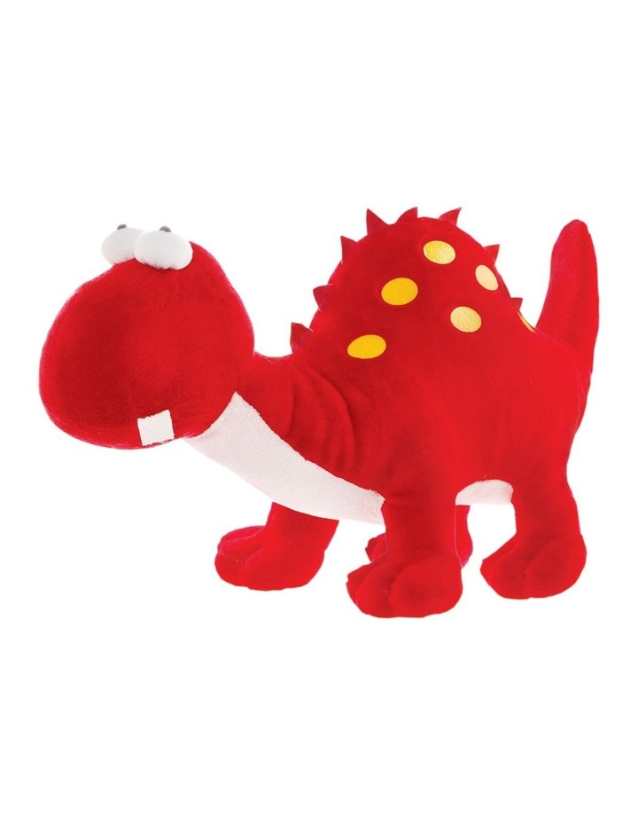 Dinosaur Red with Yellow Spots 36cm image 1
