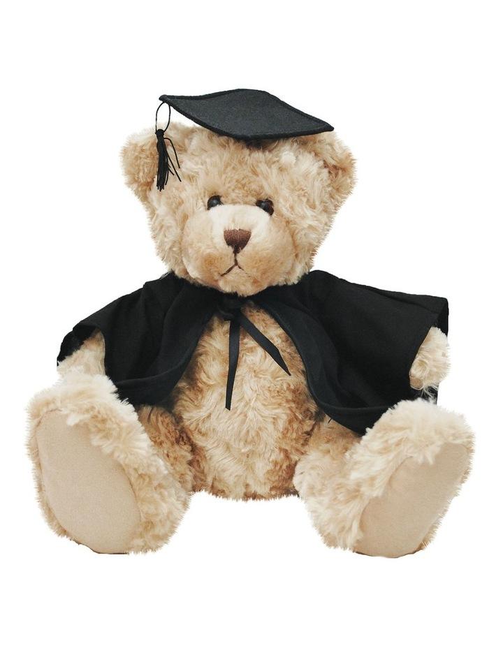 Billie Graduation Bear Beige 25cm image 1