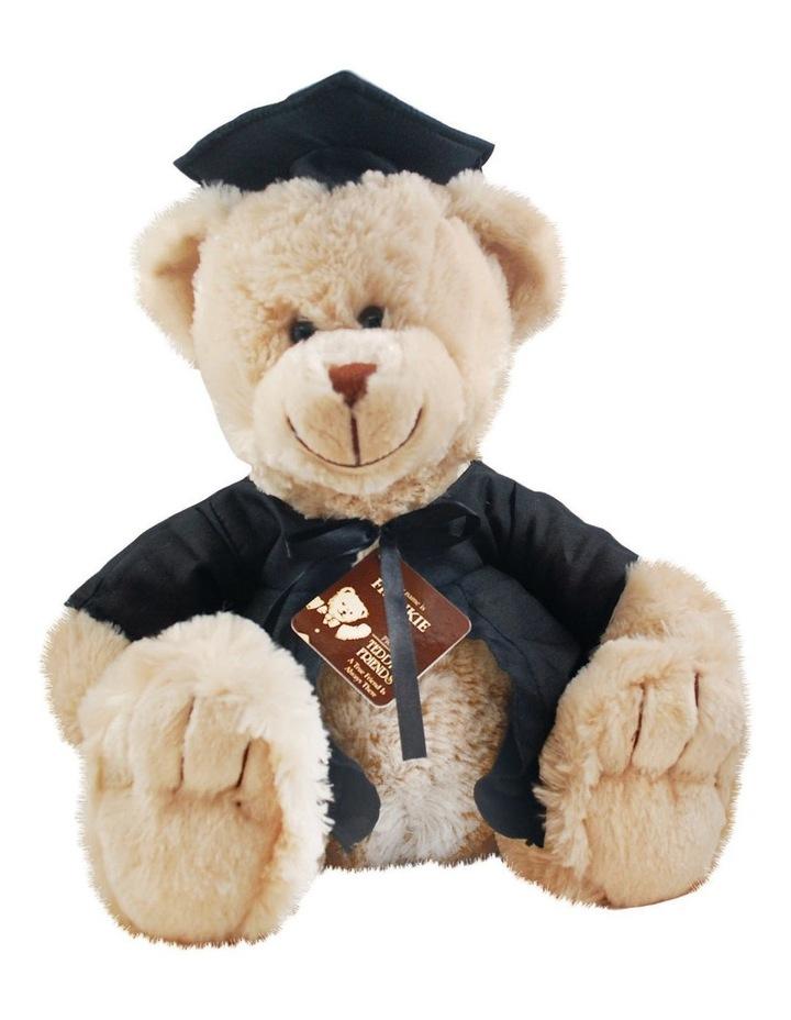 Frankie Graduation Bear Beige 40cm image 1