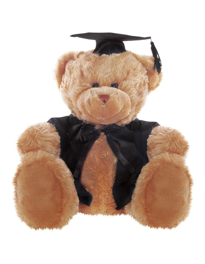 Frankie Graduation Bear Brown 40cm image 1