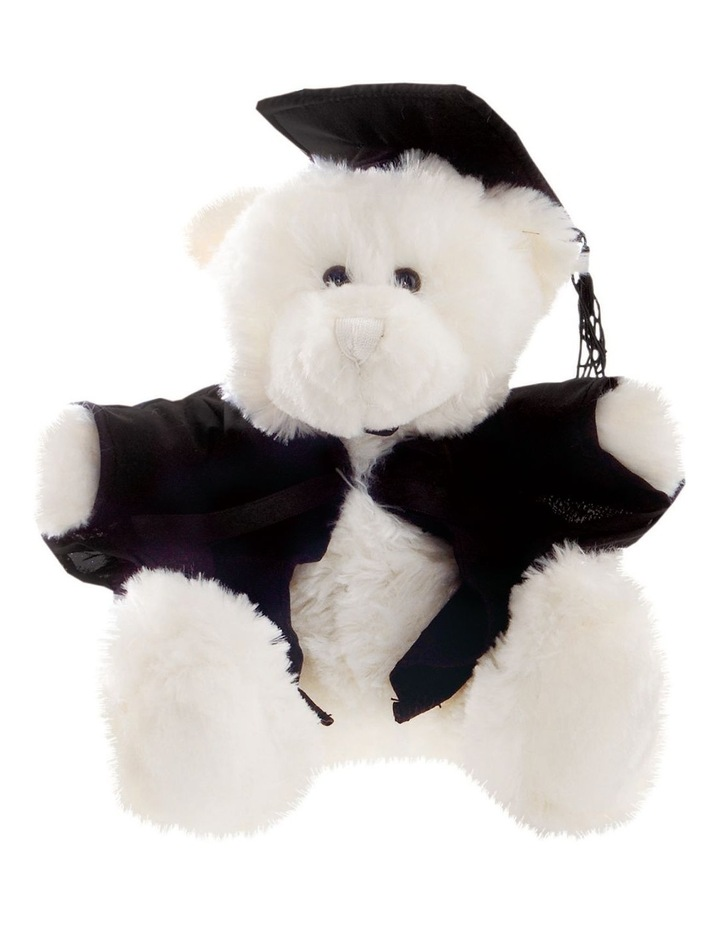 Frankie Graduation Bear 28cm Cream image 1