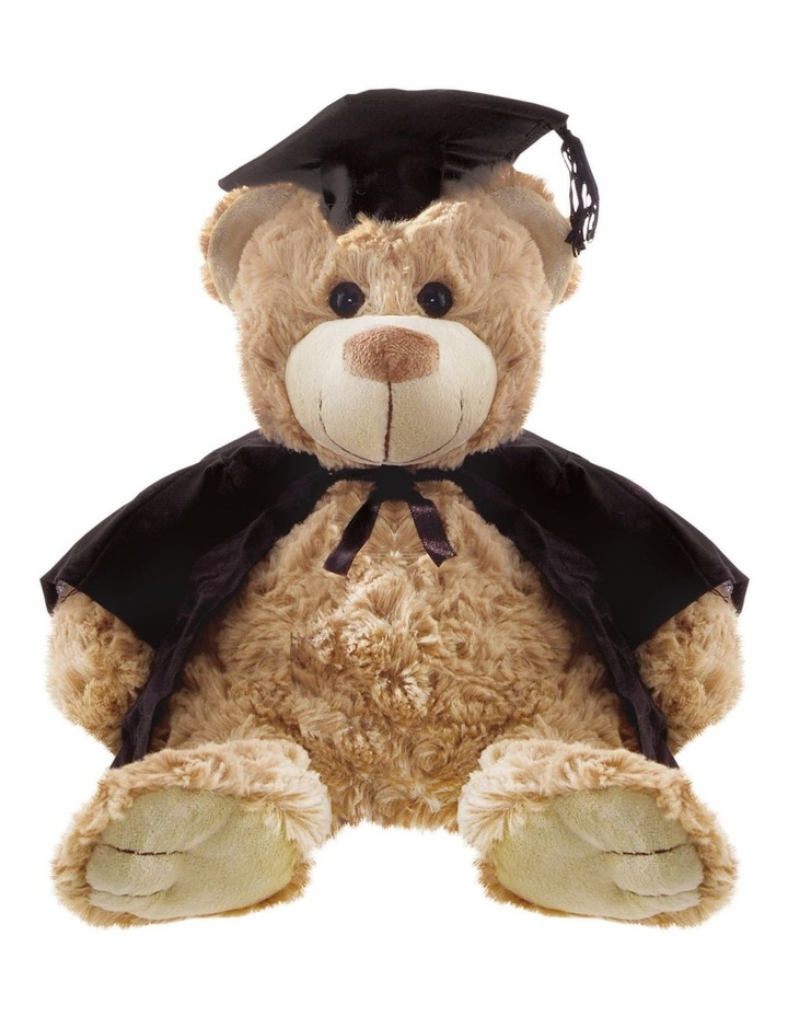 Rosie Graduation Bear Brown 32cm image 1