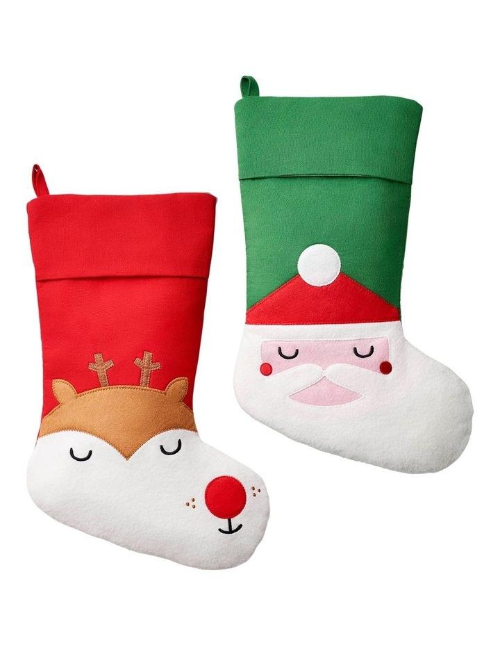 Global Positioning Stocking - Santa image 4