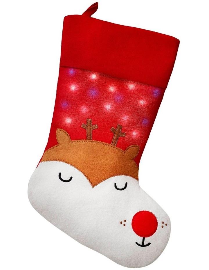 Global Positioning Stocking - Reindeer image 1