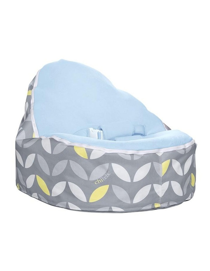 Bloom Snuggle Pod Baby Bean Bag Blue image 1