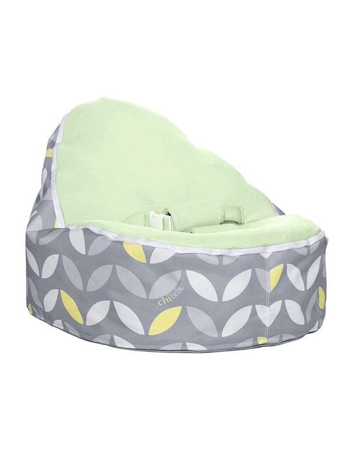 Bloom Snuggle Pod Baby Bean Bag Lime image 1