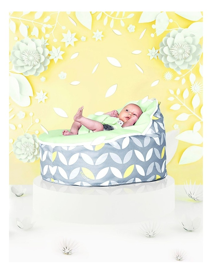 Bloom Snuggle Pod Baby Bean Bag Lime image 2