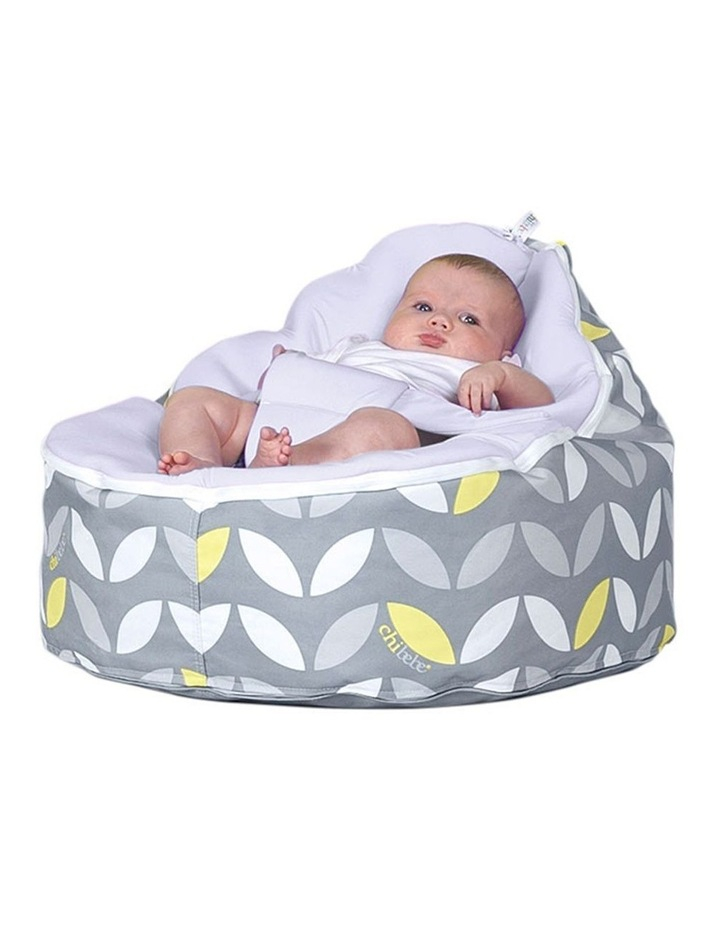 Bloom Snuggle Pod Baby Bean Bag Stone image 2