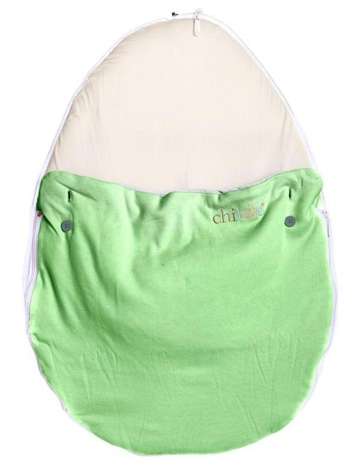 Pod Warmer Blanket for the Snuggle Pod Baby Bean Bag Lime image 2