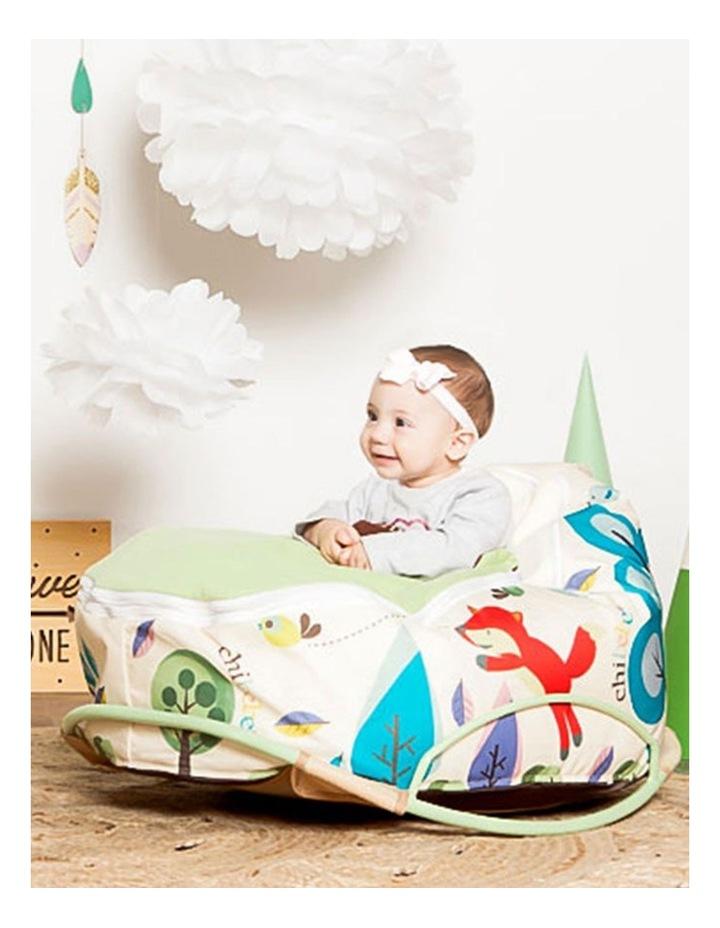 Pod Warmer Blanket for the Snuggle Pod Baby Bean Bag Lime image 5