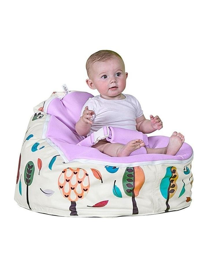 Woodlands Snuggle Pod Baby Bean Bag - Grape image 2