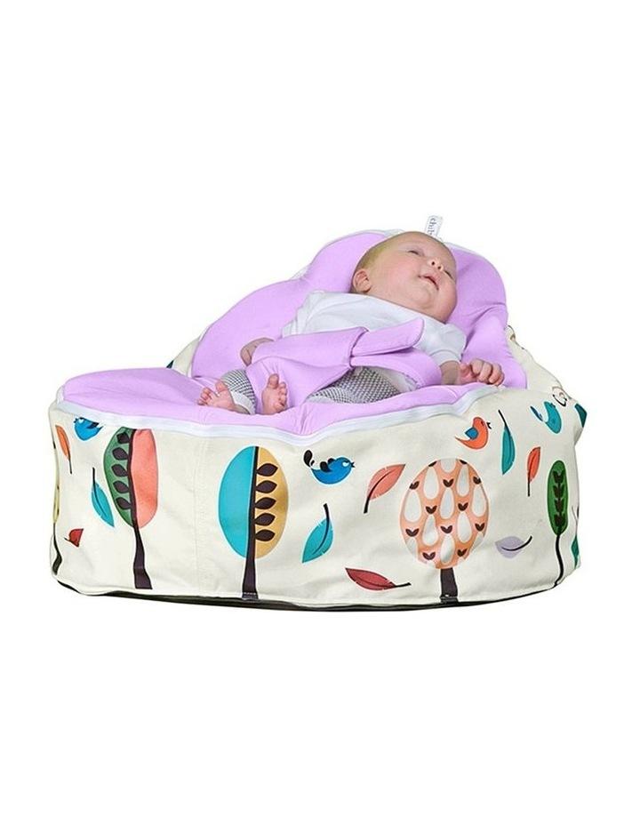 Woodlands Snuggle Pod Baby Bean Bag - Grape image 4