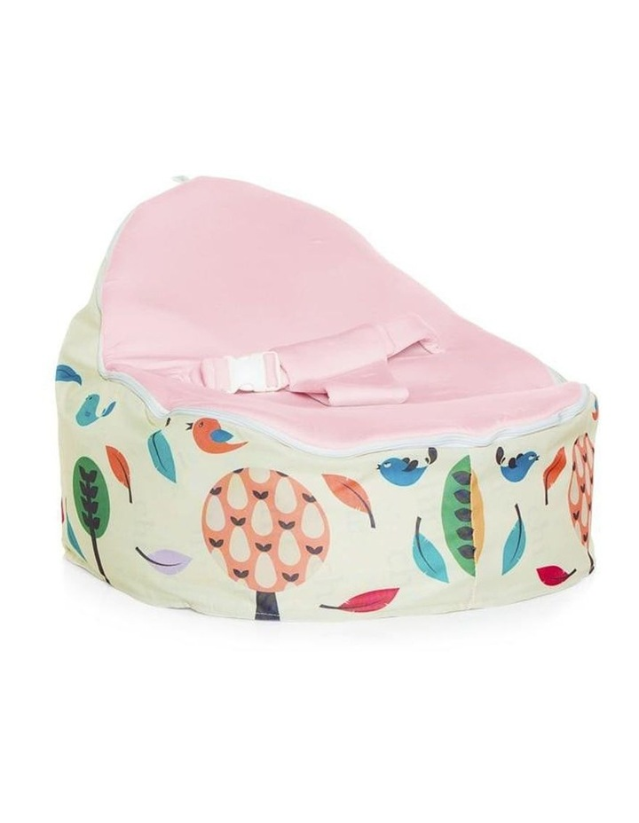 Woodlands Snuggle Pod Baby Bean Bag - Pink image 1