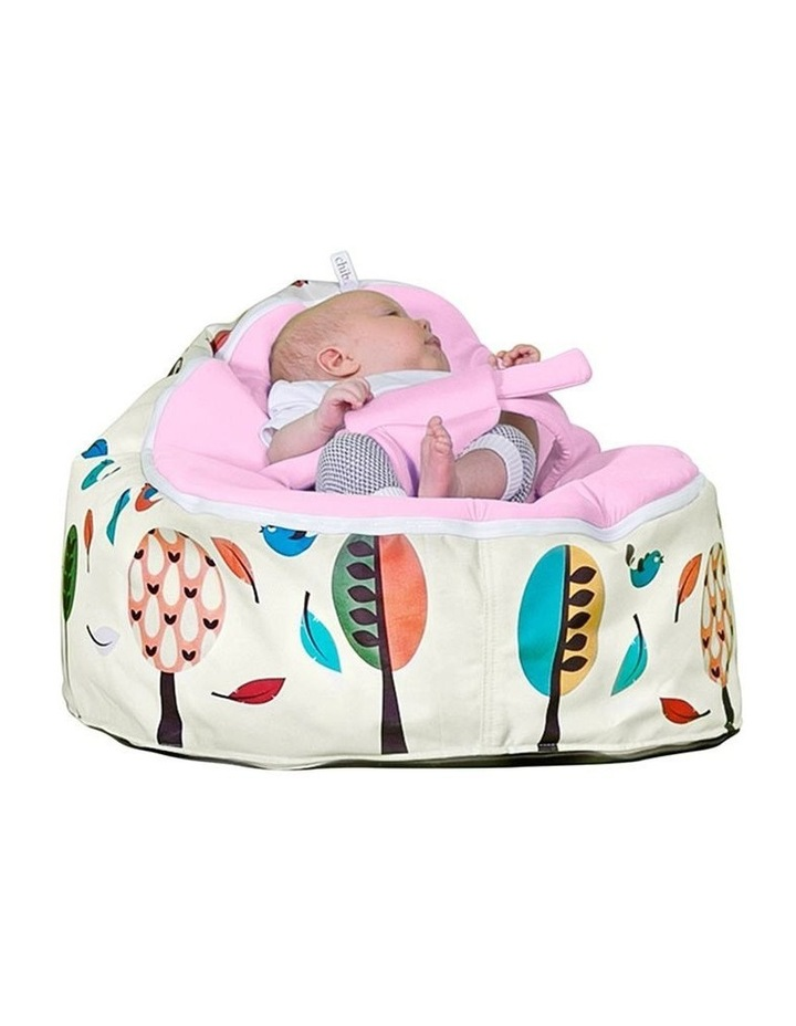 Woodlands Snuggle Pod Baby Bean Bag - Pink image 2