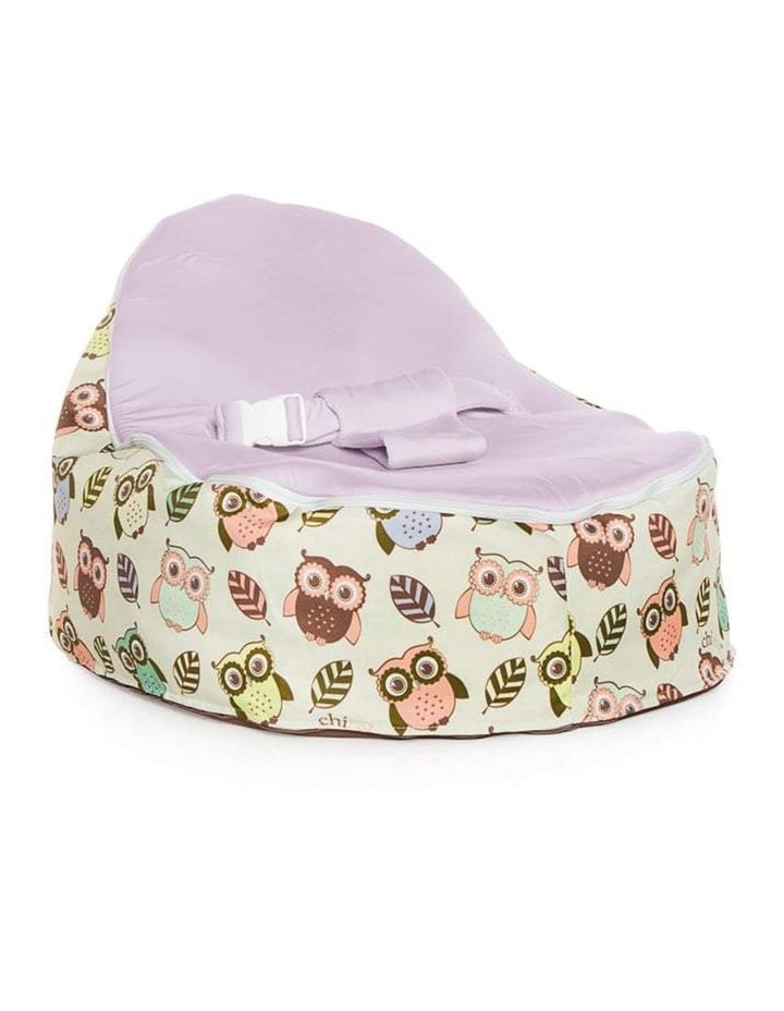 HOOT! Snuggle Pod Baby Bean Bag Grape image 1