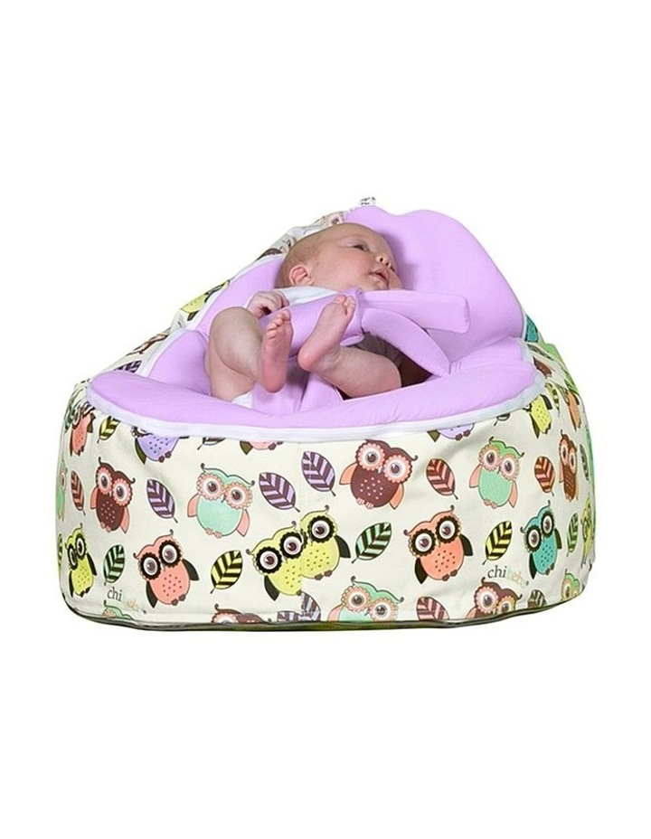 HOOT! Snuggle Pod Baby Bean Bag Grape image 2