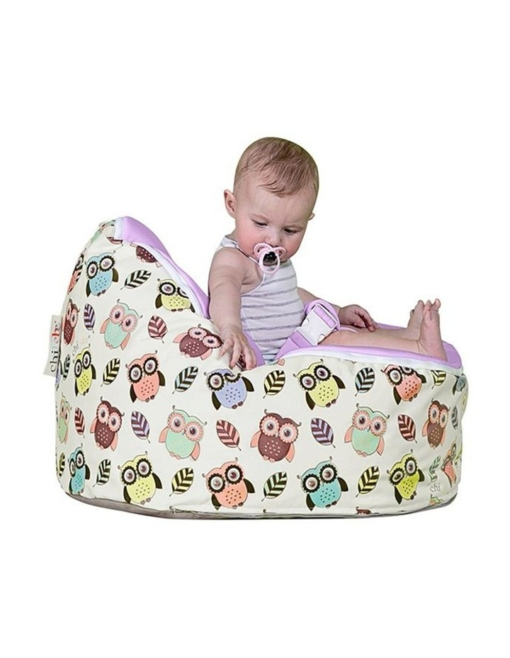 HOOT! Snuggle Pod Baby Bean Bag Grape image 3