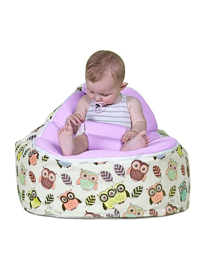 HOOT! Snuggle Pod Baby Bean Bag Grape image 4