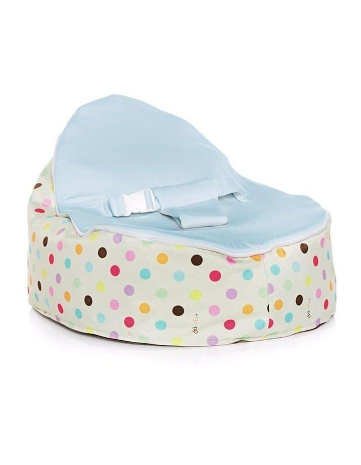 Sprinkles Snuggle Pod Baby Bean Bag - Blue image 1